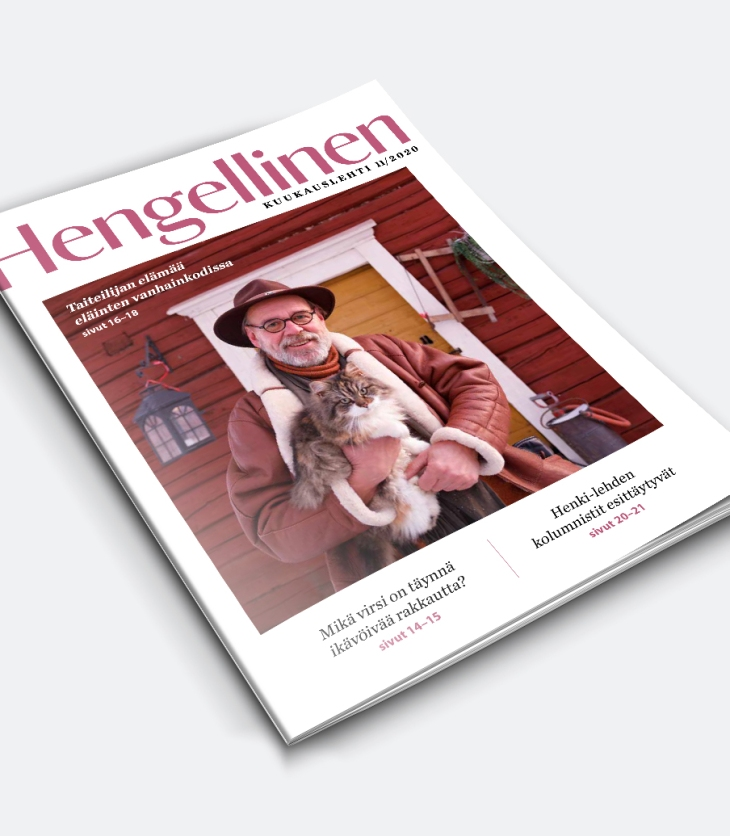 Joulukuun lehden kansikuva
